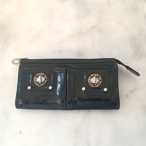Marc by Marc Jacob Patent Leather Zip Wallet